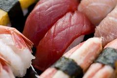 被分类的寿司 库存照片