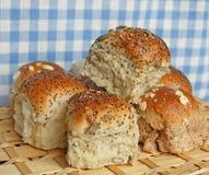 被分类的小圆面包 免版税库存图片