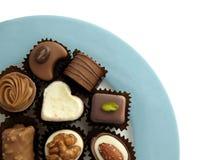 被分类的巧克力 免版税库存照片