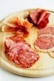 被分类的意大利肉 库存图片