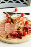 被分类的意大利肉 图库摄影