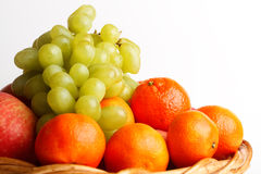 被分类的果子 库存图片
