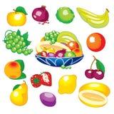 被分类的果子 免版税库存图片