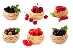 被分类的浆果 免版税库存图片