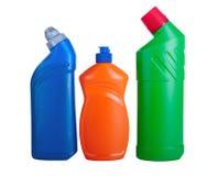 被分类的清洗的家庭产品 库存图片