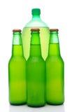 被分类的瓶柠檬石灰碳酸钠 免版税图库摄影
