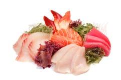 被分类的生鱼片 免版税图库摄影