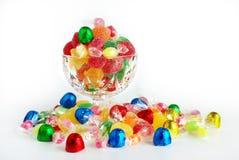 被分类的糖果 免版税库存照片