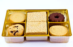 被分类的脆饼 库存照片