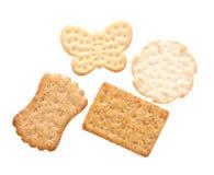 被分类的薄脆饼干 库存照片