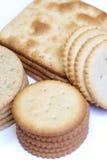 被分类的薄脆饼干 免版税库存图片