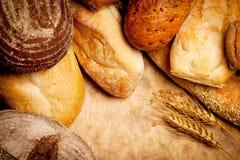 被分类的面包 图库摄影