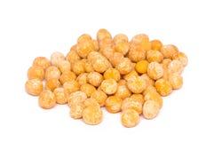 被分裂的豌豆 免版税库存照片