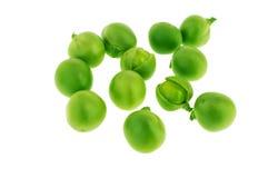 被分裂的绿豆 免版税库存照片