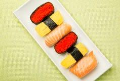 被分类的寿司 库存图片