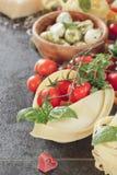 被分类的意大利面食 免版税图库摄影