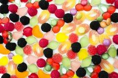 被分类的糖果 库存照片