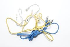 被分类的缆绳 免版税库存图片