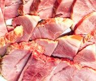 被分类的肉制品 库存图片