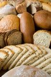 被分类的面包 库存照片