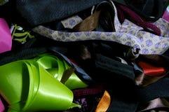 被分类的织品背景 免版税图库摄影