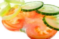 被切的蔬菜 免版税库存图片