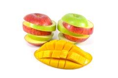 被切的Fruites 免版税库存照片