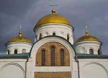 1824年被创办的大教堂工厂意味nevyansk责任人pyatiprestolny石变貌yakovlev 免版税库存图片
