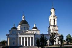 1824年被创办的大教堂工厂意味nevyansk责任人pyatiprestolny石变貌yakovlev Nevyansk 俄国 免版税库存照片