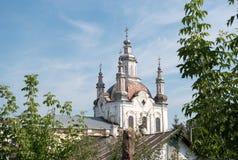 1824年被创办的大教堂工厂意味nevyansk责任人pyatiprestolny石变貌yakovlev Shadrinsk,俄罗斯 库存图片