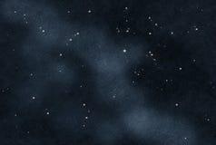 被创建的数字式starfield 免版税库存图片