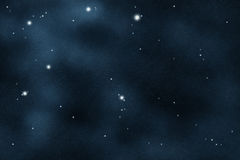 被创建的数字式starfield 库存照片