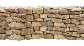被删去的石墙 免版税库存图片