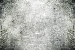 被刮的金属 免版税库存图片