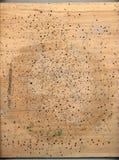 被刺的木头 免版税库存照片