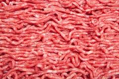 被剁碎的肉 免版税图库摄影