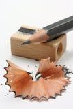 被削尖的铅笔 库存图片