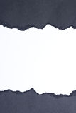被剥去的纸张 免版税库存照片