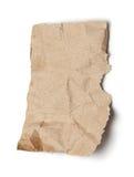 被剥去的纸部分 图库摄影