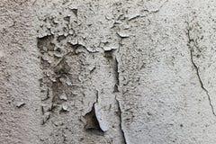 被剥皮的和破裂的墙壁 图库摄影
