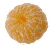 被剥皮的橘子 库存照片