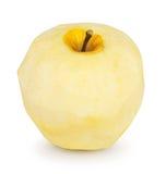 被剥皮的苹果 图库摄影