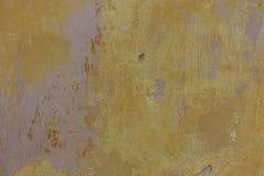 被剥皮的破裂的膏药墙壁背景 免版税库存照片
