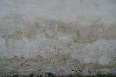 被剥皮的破裂的膏药墙壁背景 图库摄影