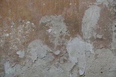 被剥皮的破裂的膏药墙壁背景 库存照片