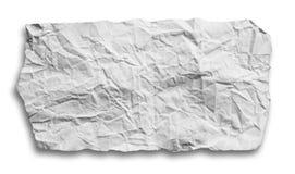 被剥去的和被撕毁的纸 免版税库存图片