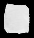 被剥去的和被撕毁的纸 免版税图库摄影