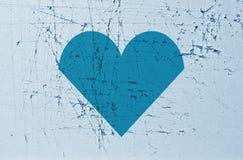 被剥去的心脏背景 免版税库存图片