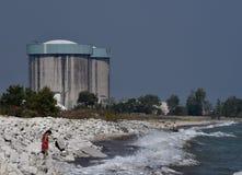 被加压的水反应器 免版税库存照片