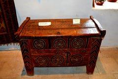 被加强的中世纪教会的博物馆葡萄园谷的,特兰西瓦尼亚 免版税库存图片